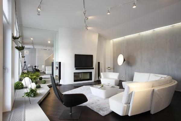 современный дизайн интерьера минимализм