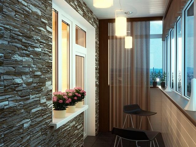 дизайн балкона в хрущёвке