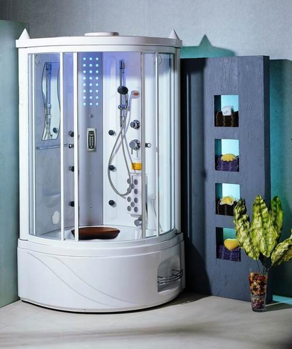 душевая кабинка в стиле хай-тек