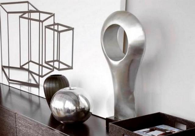 использование металла в интерьере в квартире