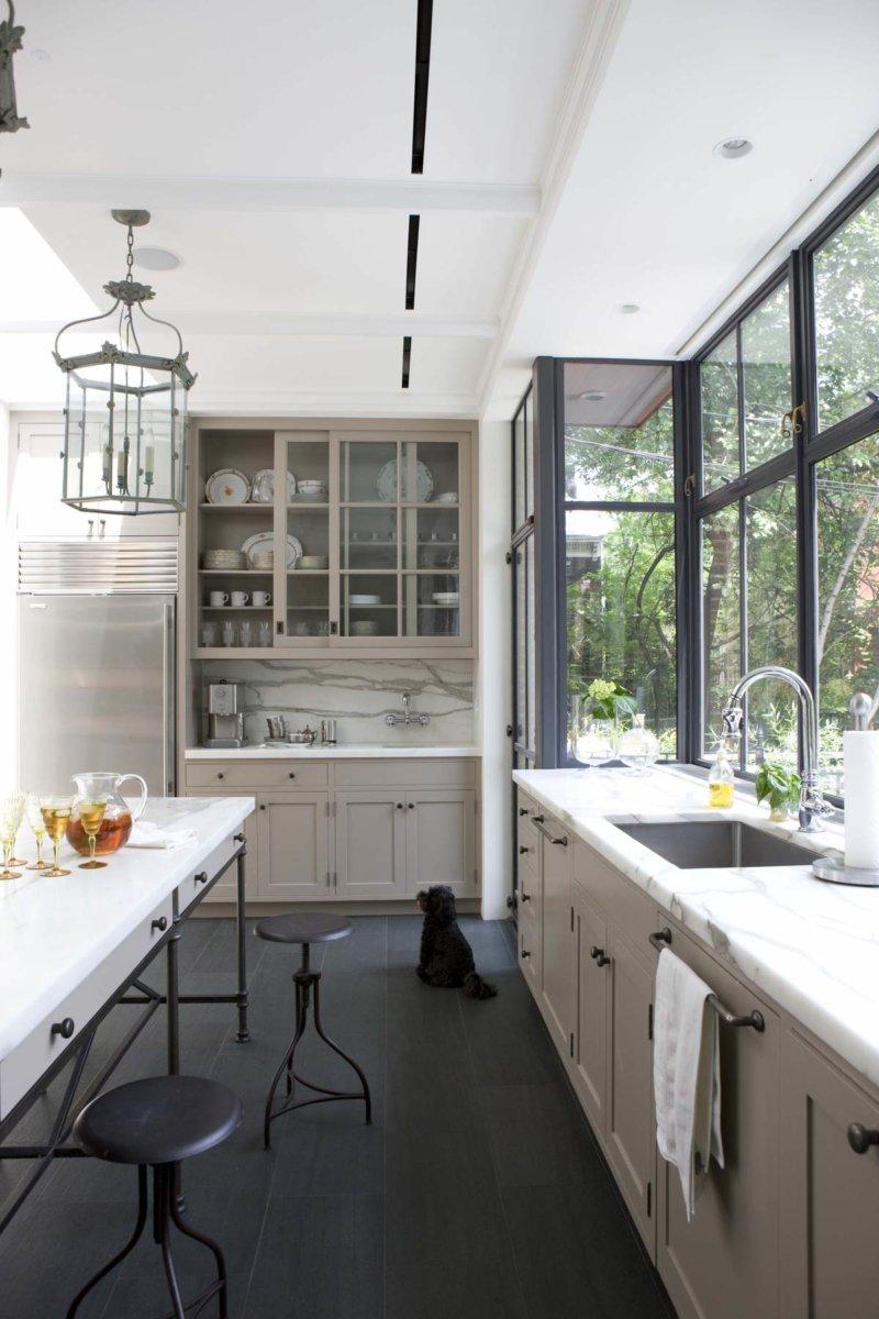кухня на балконе фото