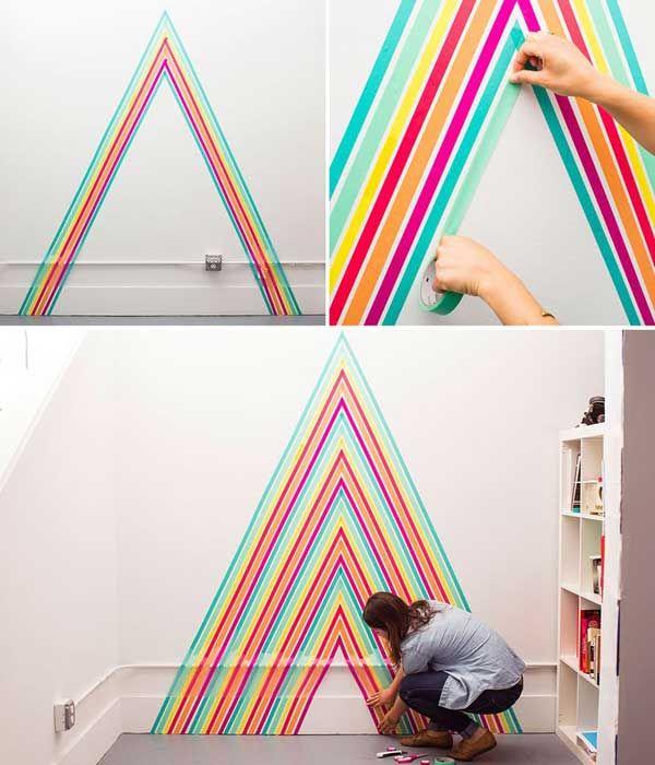 как разрисовать стену