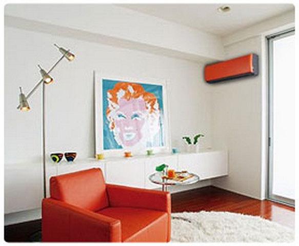 кондиционер в дизайне квартиры