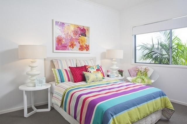 красивое оформление спален