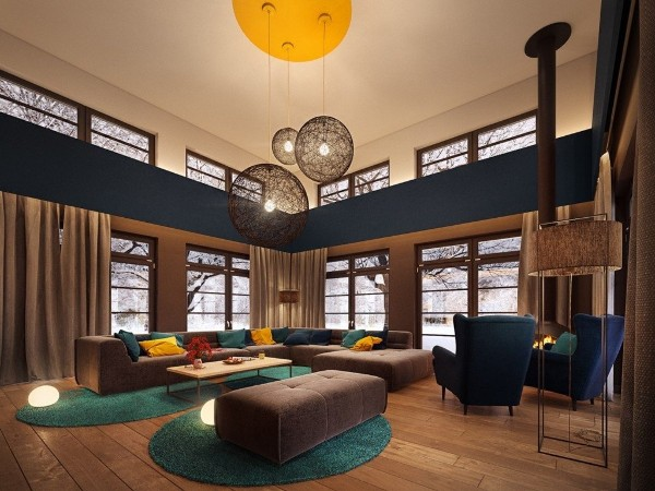 красивые интерьеры современного дизайна
