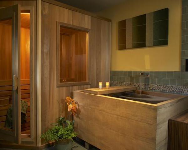 оформление ванной комнаты в японском стиле