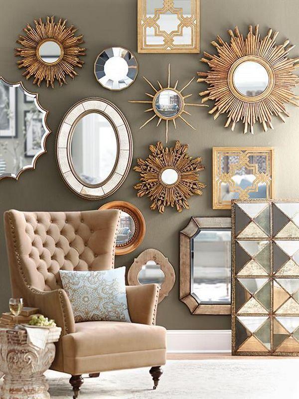 красивые зеркала
