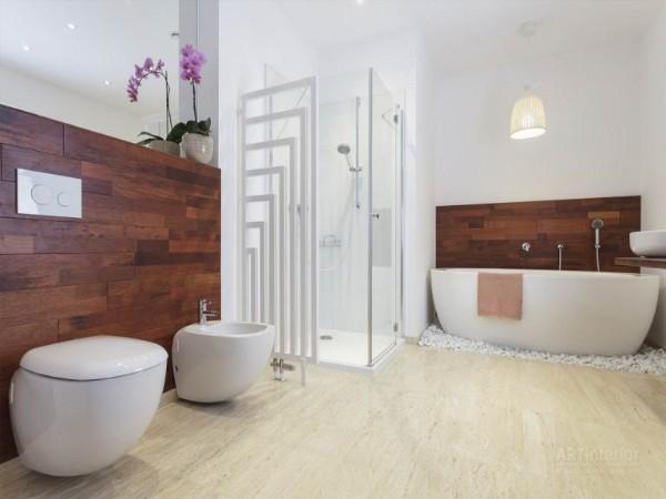 оригинальный современный дизайн интерьера ванной