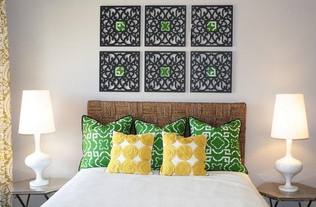 подушки в спалье