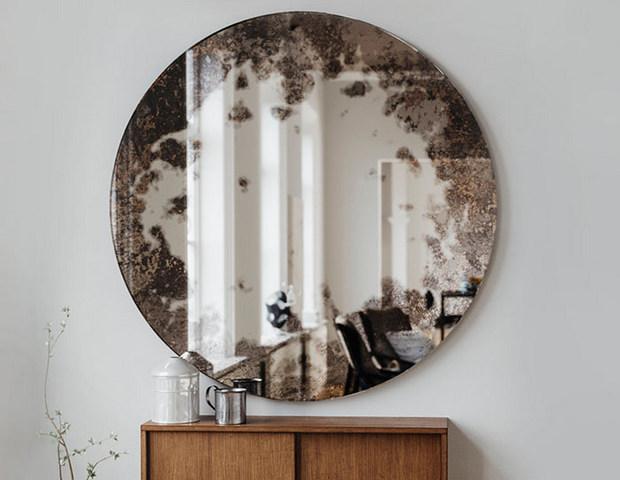 состаривание зеркала