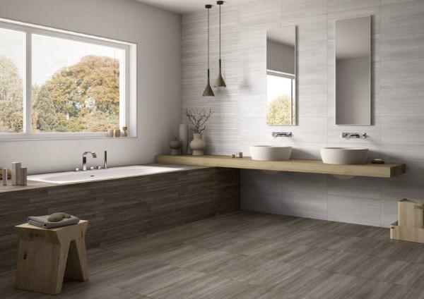 современный дизайн интерьера ванной комнаты минимализам 2018
