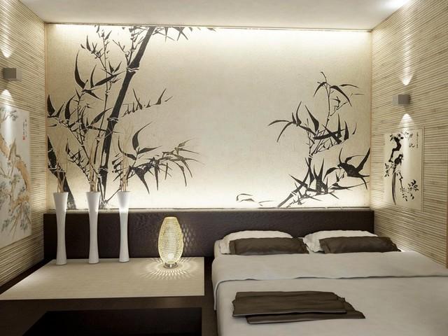 спальная комната в японском стиле фото