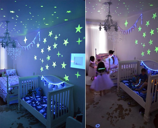 стены детской комнаты