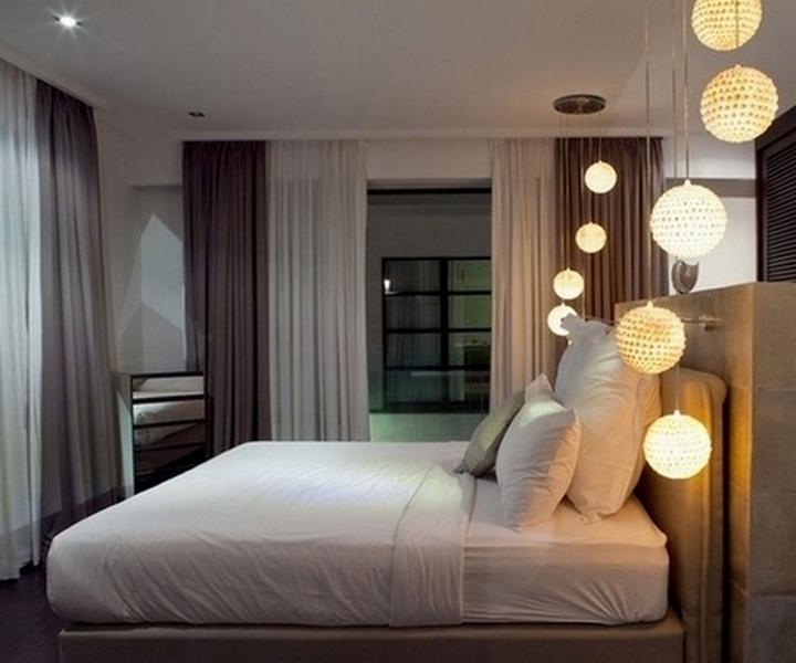 светильники в спальню фото