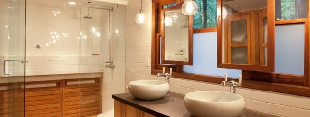 ванная в японском стиле в квартире