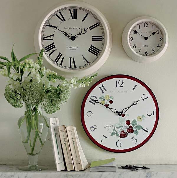 винтажные часы на стену