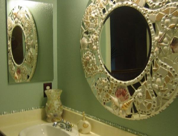 зеркало украшенное своими руками