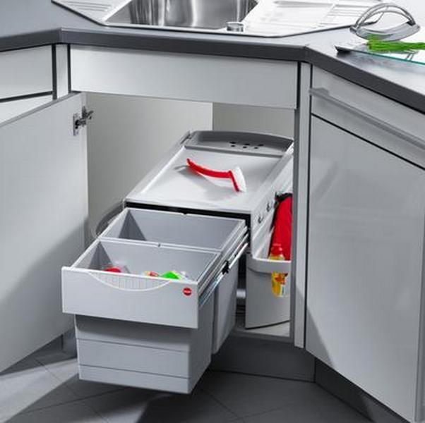 дизайн угловой кухни примеры