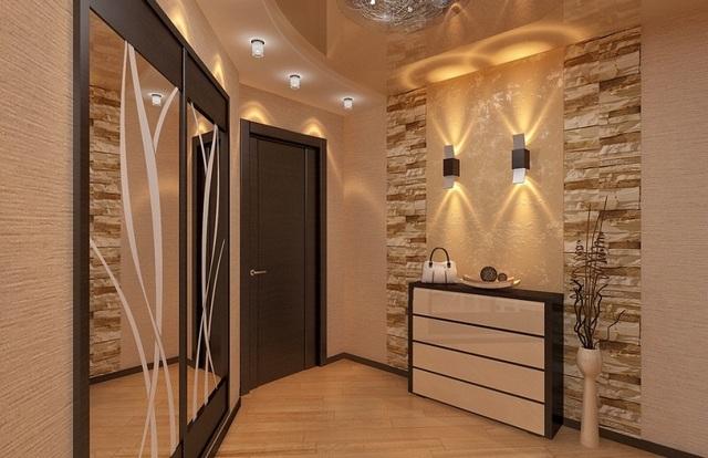дизайн коридора в интерьере