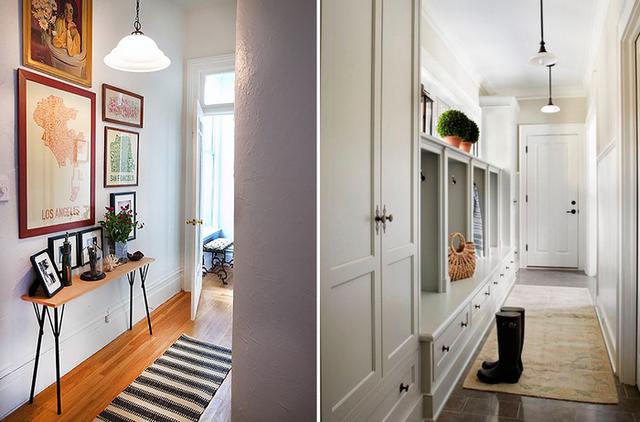 дизайн коридора в частном доме фото