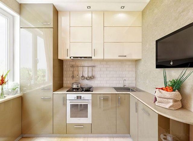 дизайн кухни 12 фото угловые фото