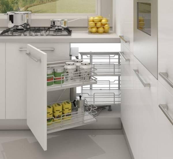 дизайн кухни как оформить угол