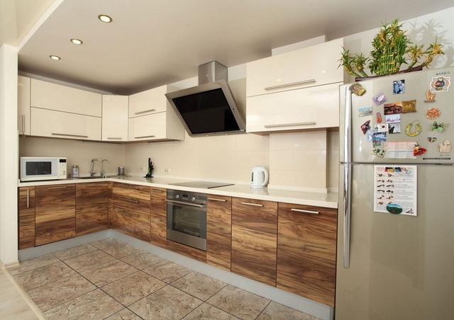 дизайн кухни угловой 7 кв идеи
