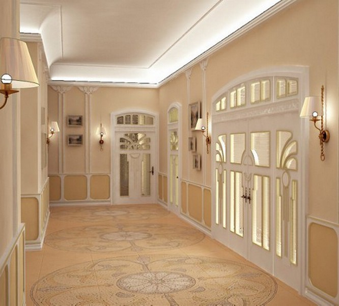 дизайн шкафа в коридор варианты