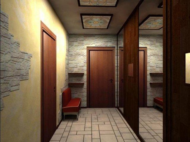 дизайн шкафа в коридор