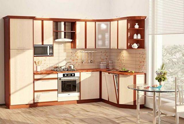 дизайн угловой кухни 6 кв м