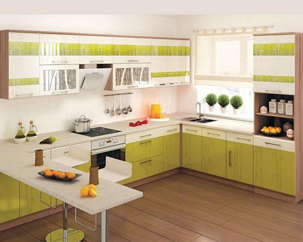 дизайн угловой кухни 9 идеи фото