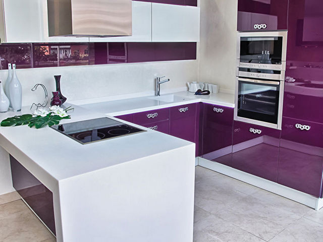 дизайн угловой кухни 9 идеи