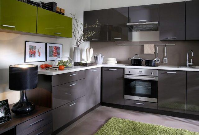 дизайн угловой кухни 9 кв м фото