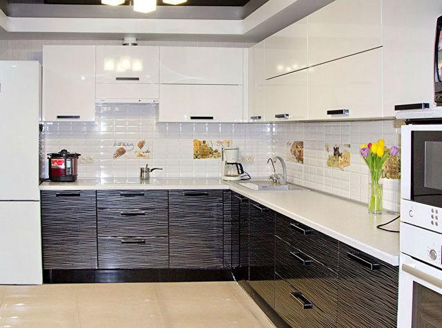 дизайн угловой кухни 9 м фото