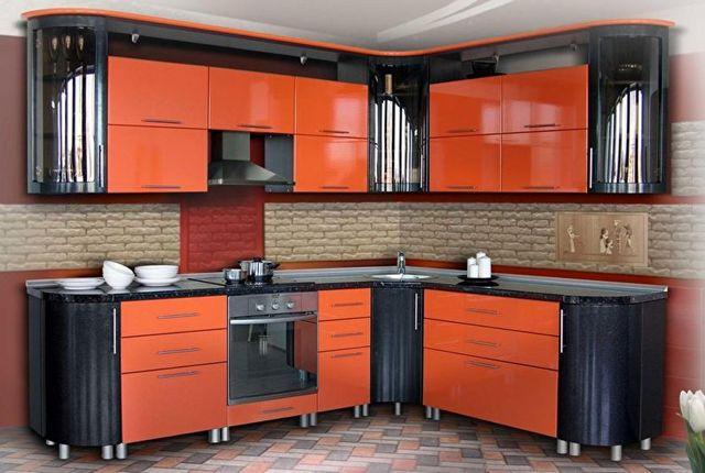 дизайн угловой кухни 9 м