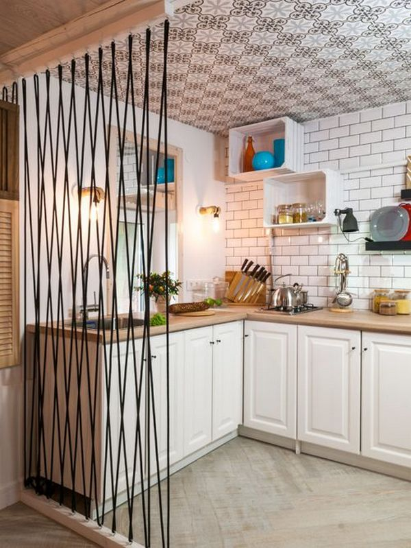 дизайн угловой кухни с барной стойкой идеи