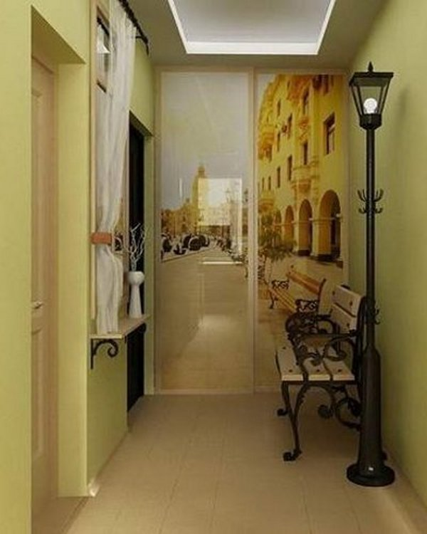 дизайн узкого коридора в квартире фото