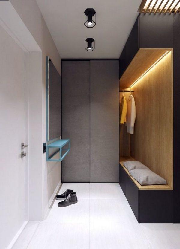 фото современный дизайн коридора