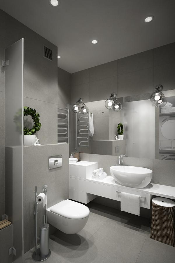 контрасты в дизайне квартире