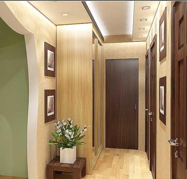 коридор в квартире дизайн реальные фото