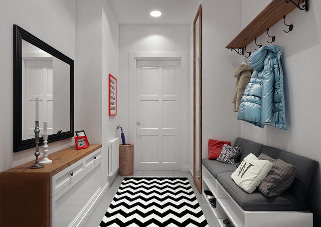 коридор в квартире дизайн реальные