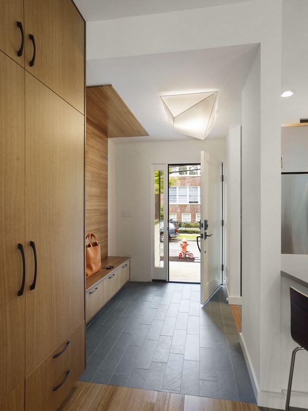 современный дизайн коридора