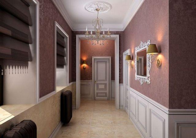 стильный коридор
