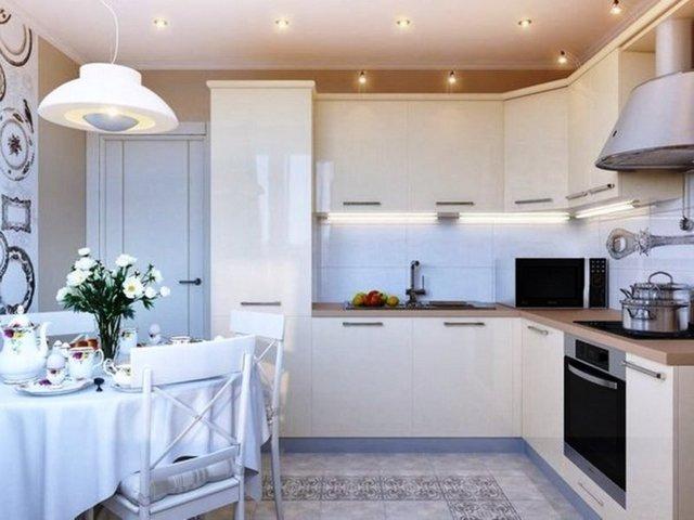 угловые кухни фото дизайн