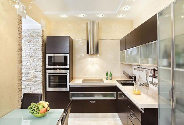 угловые кухни идеи дизайна 1