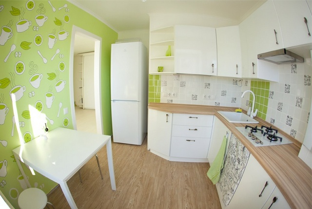 угловые кухни современный дизайн
