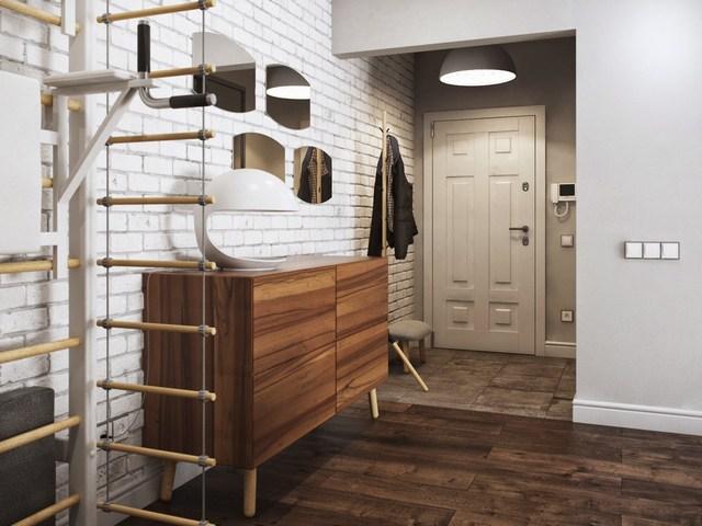 узкие коридоры дизайн фото