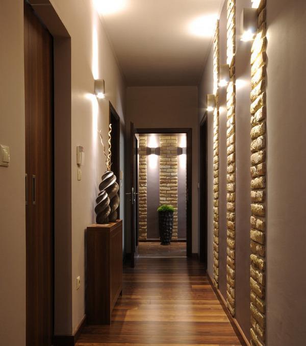 узкий коридор дизайн в квартире