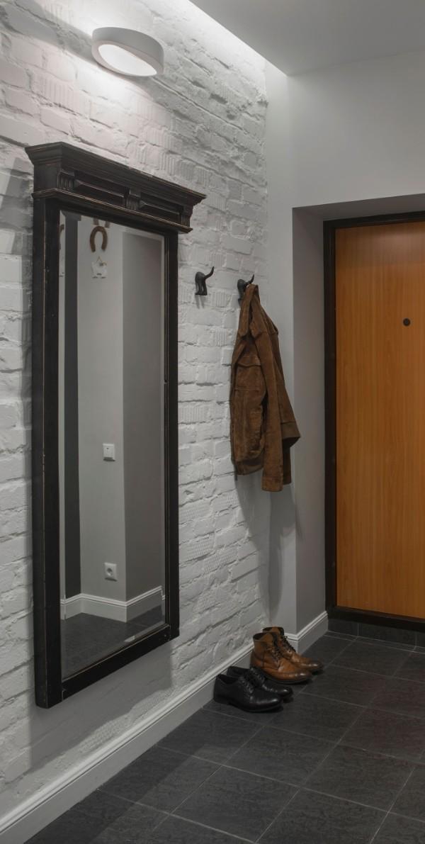 дизайн коридора в квартире хрущёвке