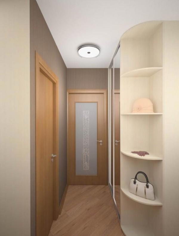 дизайн коридоров однокомнатных квартир
